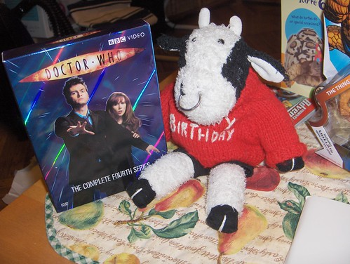 I got the Doctor Who Season Four DVD set! It's Donna-riffic!