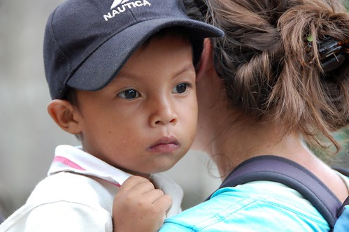 children in vera cruz, nicaragua