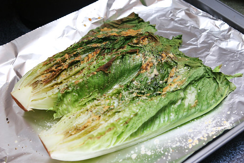 Broiled Lettuce