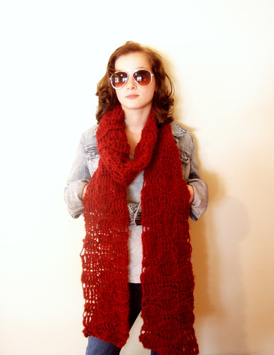 softspoken open mouth scarf