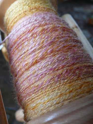 Plied laceweight silk