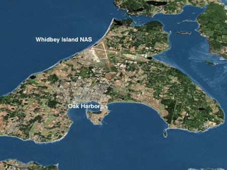 NAS Whidbey Map