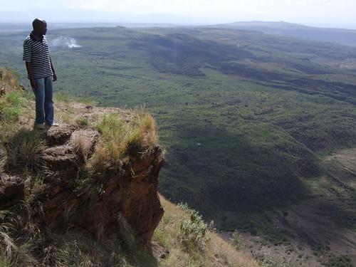 Solomon at Menengai Crater