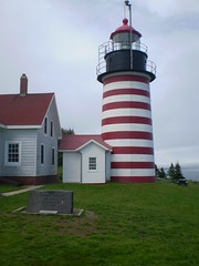 West Quoddy (ms. malaprop) Tags: lighthouse west point us head quoddy easternmost maine2009