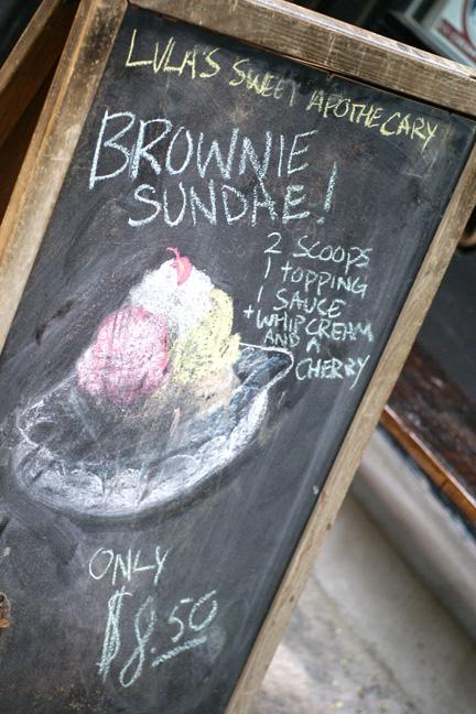 LulasSweetApothecary Gluten Free Brownie Sundae NYC
