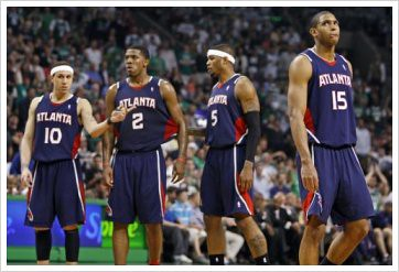 Joe Johnson, Atlanta Hawks, Josh Smith, Mike Bibby, Al Horford