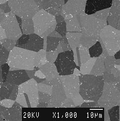 Ni-Superalloy, heat treated above gamma-prime ...