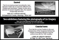 Coastal Currents 2009 (Lin Gregory (Light-Worker♥)) Tags: architecture buildings structures exhibition rye huts sacred hastings eastsussex megaliths avebury winchelsea stonecircles groynes castlerigg bexhill menantol pett swinside coastalcurrents coastalicons