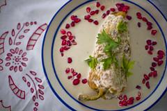Chile en Nogada (Jesus Guzman-Moya) Tags: chile food mexico comida puebla chileennogada angelopolis chuchogm jesusguzmanmoya