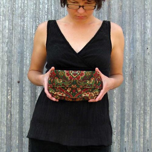 Magic Carpet - The Truss Clutch - Eco-Friendly
