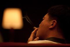 Puffing (pamhule) Tags: china shanghai  pudong jinmao jinmaotower   patiolounge shanghaigrandhyatt