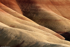 Sunset over the Painted Hills (ScottLarsen) Tags: red nature oregon centraloregon fossil rust iron desert beds painted dry hills clay highdesert mitchell paintedhills barren arid nationalmonument unit desiccated oxide johnday johndayfossilbedsnationalmonument fossilbeds wheelercounty