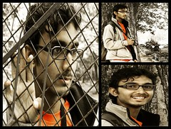 Same day, different moods... (zeeography) Tags: framed bangalore photowalk cubbonpark freedompark zeeshan setu differentmoods bpw photographerphotographed zeeography bpw6sepfreedompark