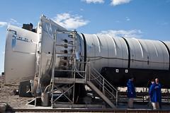 NASA ARES-1 DM-1 Rocket Motor Prior to Static Test at ATK