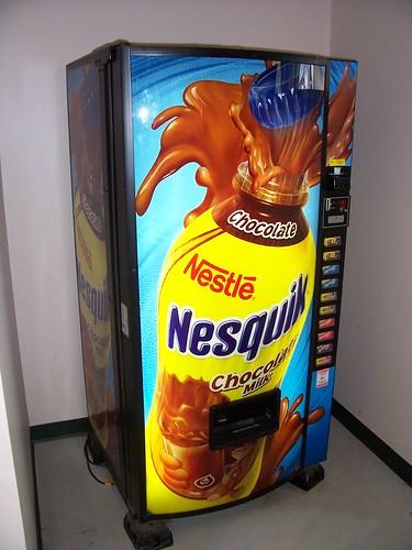 Nesquik Chocolate Milk Machine A Photo On Flickriver