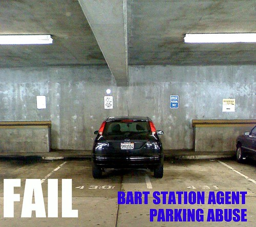 BART Agent FAIL - Setting bad example