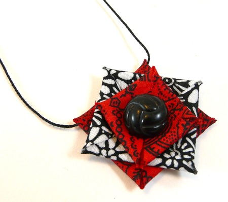How to Make Stiffened Fabric Jewelry