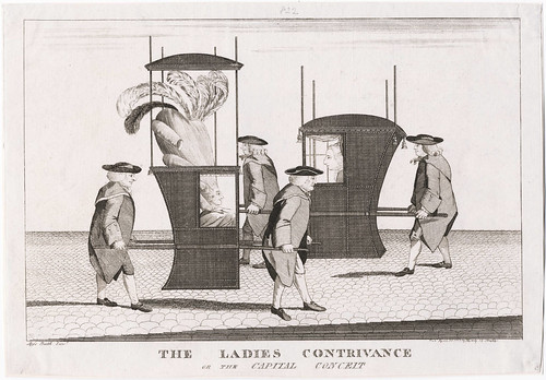 The Ladies Contrivance, or, the Capital Conceit 1777 (Darly)