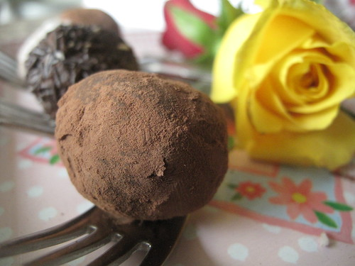Chocolate chilli truffle