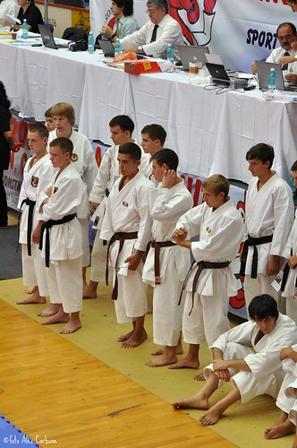 cadets waiting for Kata qualifications