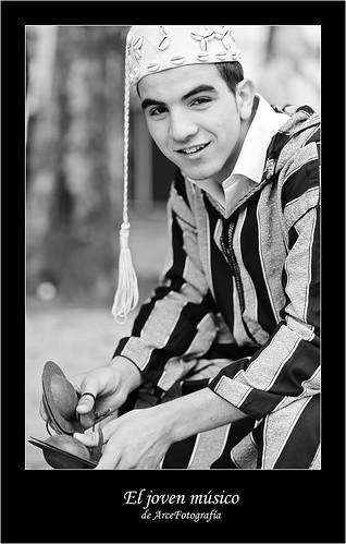 El joven músico