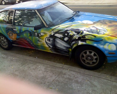 Monster Geek Mash-up Car