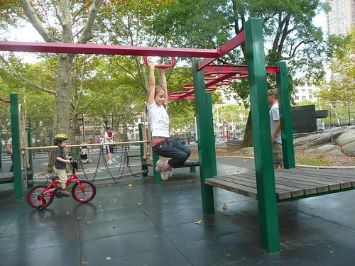 Lillie at the playground.