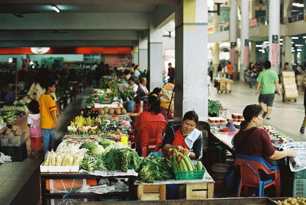 诗巫的中央市场