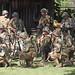 Army Rangers preparing to take a French town.
