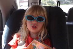 rockin' the blue shades