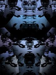 The Neon Pazuzu (BLACKSUNR1SE) Tags: vortex motion blur texture monochrome slick fuzzy interior alien vertigo projection snapshots experimentation astral parapsychology astralprojection