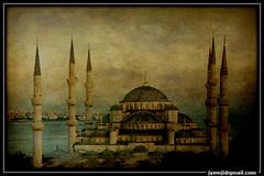 Istanbul: Mosquée Bleue (Hatuey Photographies) Tags: turkey istanbul turquie bluemosque 1001nights mosquéebleue superaplus aplusphoto artofimages expressyourselfaward bestcapturesaoi hatueyphotographies ©hatueyphotographies