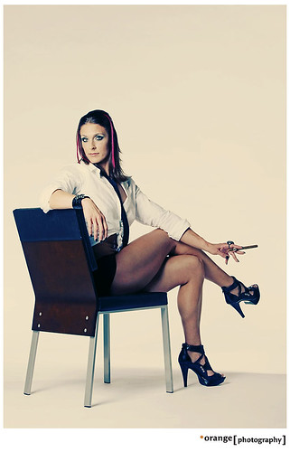 Mad Men inspired photo of Shawna Walker