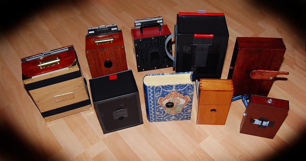 Large Format pinhole cameras