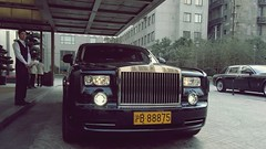 Rolls-Royce Phantom - Peninsula Shanghai (Matt@PEK) Tags: peninsula hotel shanghai