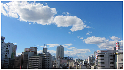 今日の空 Photo By CANON PowerShot S90