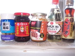 Japanese, Chinese and Indonesian seasoning