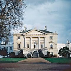 White Lodge (onemanrace) Tags: park school ballet white film 35mm minolta kodak awesome royal richmond lodge x700 ektar100