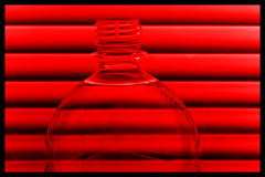 Red Venetian blind (digikuva) Tags: red canon finland bottle helsinki europe heiluht manipualted recolored venetianblind img5064 efs1785mm 40d top20red canoneos40d