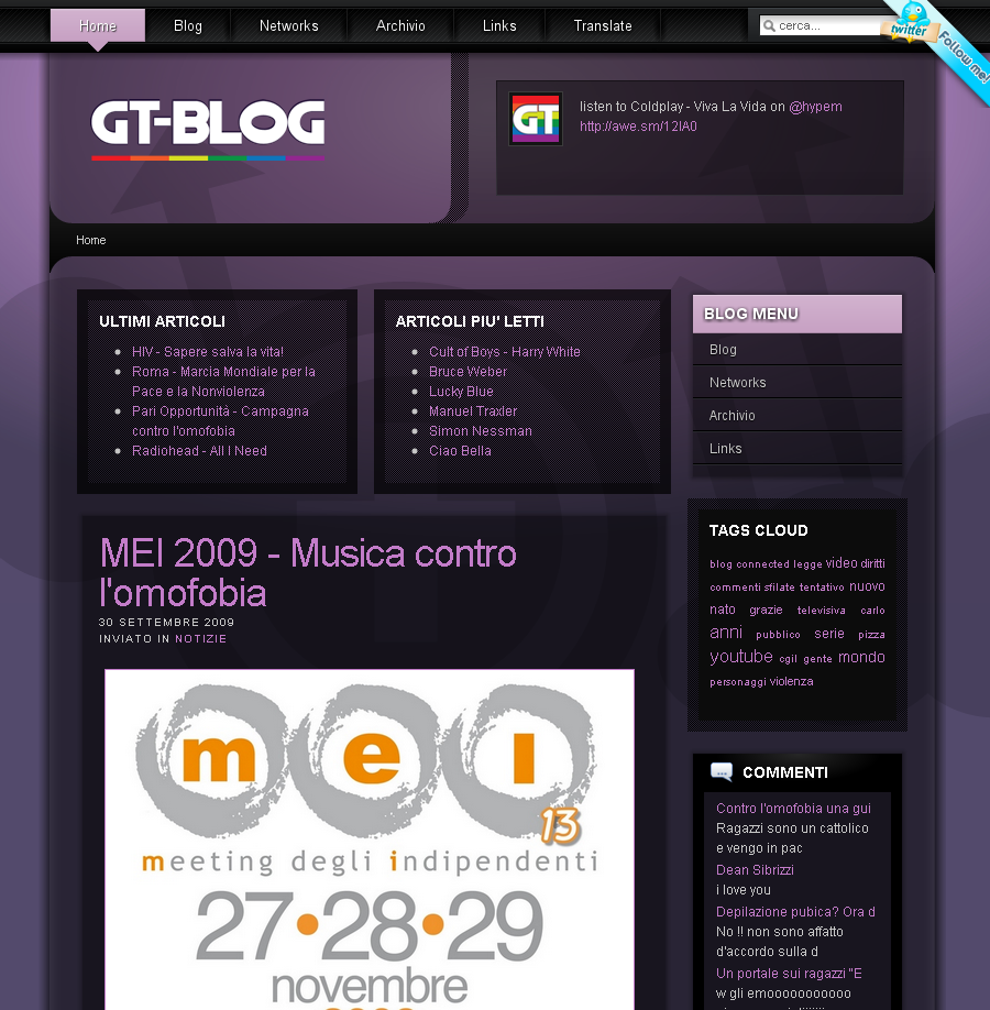 GT-Blog screenshot