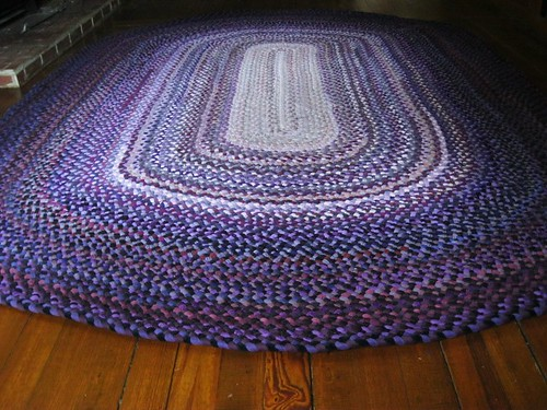 7 x 10 Area Recycled Braided Rug