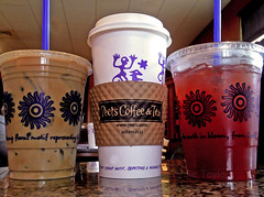 (Carrie Taylor) Tags: cameraphone coffee tea espresso latte peets peetscoffee vanillalatte carrietaylor peetscoffeetea motoroladefy