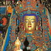 The Crowned Buddha statue or Jowo, Tibet's most sacred statue.