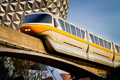 Epcot - Yellow (Jeff Krause Photography) Tags: yellow epcot disney monorail wdw sse fav25