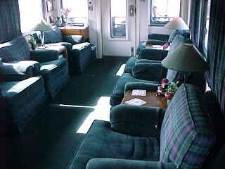 Private Rail Car - Scottish Thistle interior