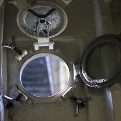 Porthole (Natashatashtash) Tags: ship brisbane naval brisbanemeetup hmasdiamantina