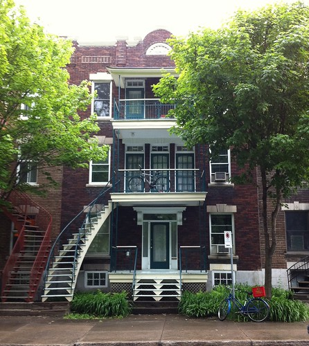 typical Montreal apartment