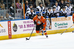 "Missouri Mavericks vs. Wichita Thunder, February 7, 2017, Silverstein Eye Centers Arena, Independence, Missouri.  Photo: John Howe / Howe Creative Photography • <a style=""font-size:0.8em;"" href=""http://www.flickr.com/photos/134016632@N02/32422665270/"" target=""_blank"">View on Flickr</a>"