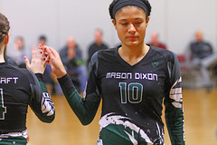 IMG_6518 (SJH Foto) Tags: girls volleyball teen teenager team mason dixon xtreme u16s substitution sub rotation
