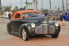 Mooneyes X-Mas Party 2016 (USautos98) Tags: 1940 chevrolet chevy specialdeluxe leadsled hotrod streetrod kustom rockabilly